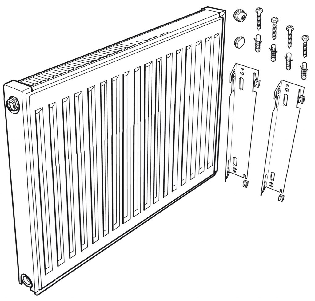 Kudox Standard Convector Panel Radiators