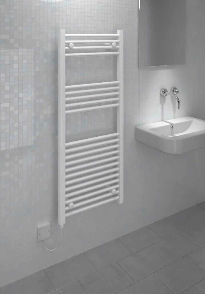 Kudox Electric Towel Rail Straight LST 500mm x 1200mm